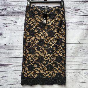 3/$25 Mini/Midy  Black lace Dress